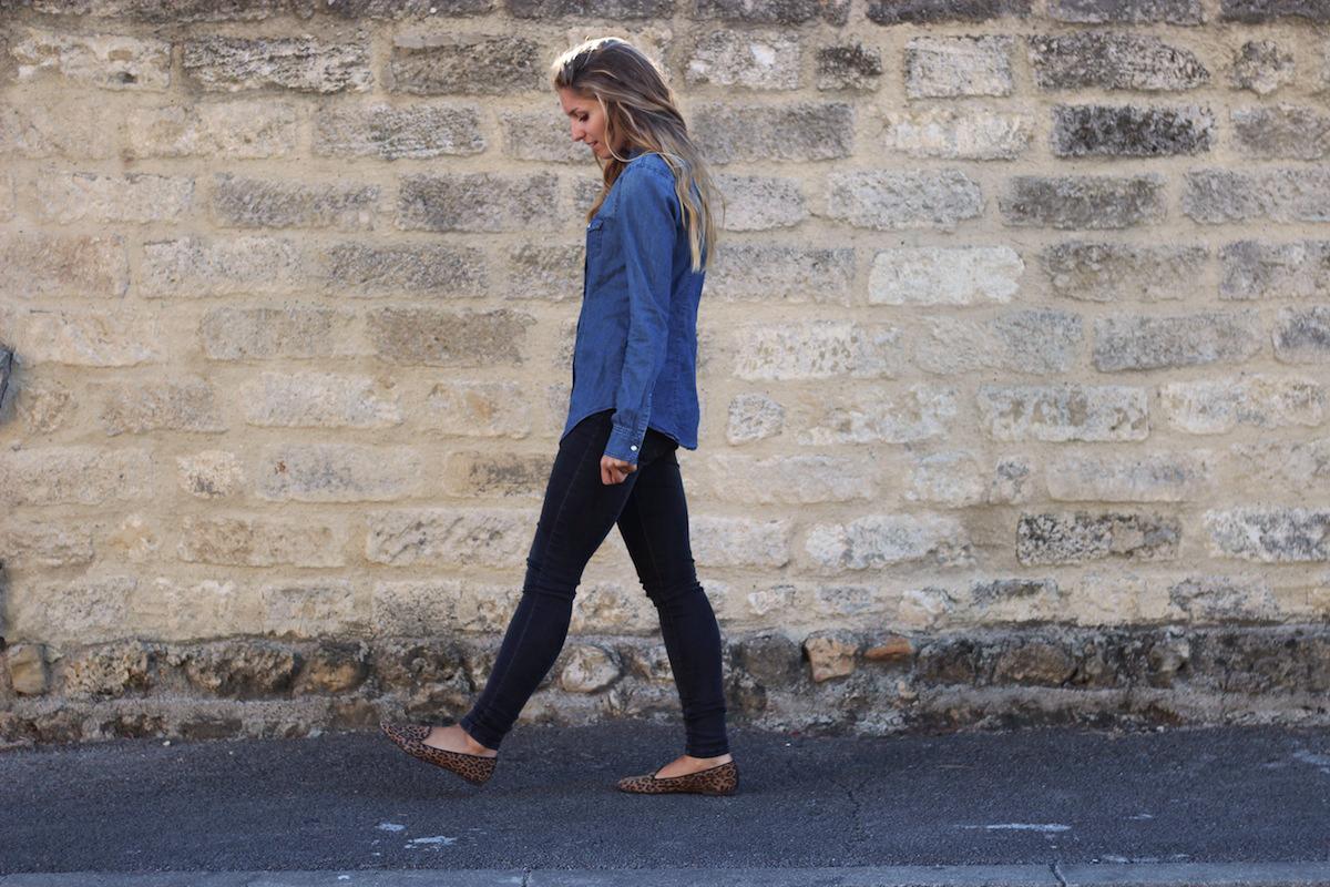 Jeans Comptoir des Cotonniers, Chemise en Jeans